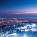 Večerní lyžování na Grouse Mountain nad metropolí Vancouver., foto: www.sbcskier.com