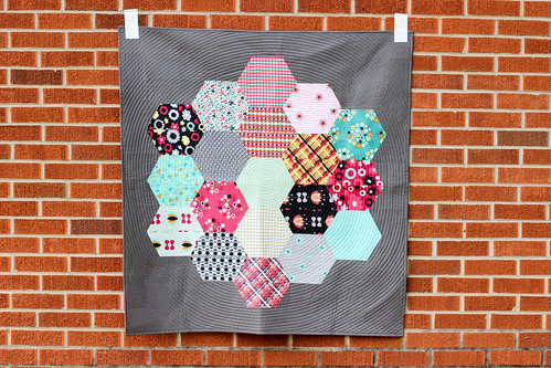 Nordika Color Hex Quilt by Jeni Baker