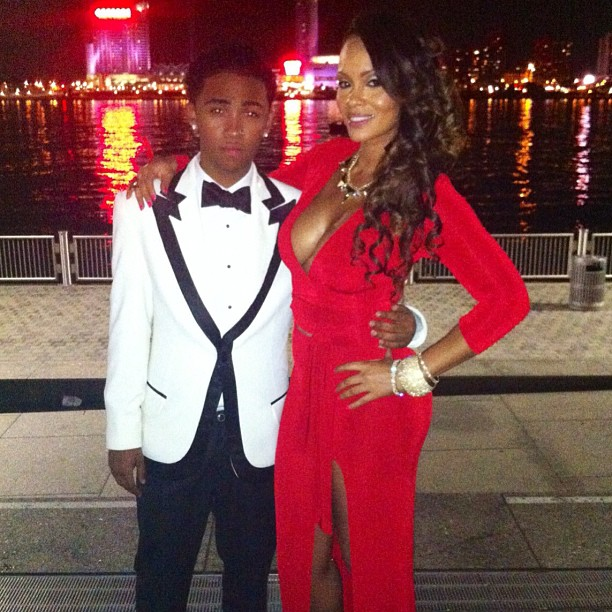 evelyn lozada prom date
