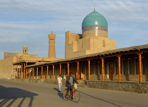 Take the bike in Bukhara, Uzbekistan ( Unesco  world  heritage)