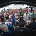 Autograph session in the INDYCAR Fan Village