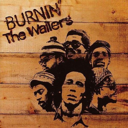 Burnin Album Cover