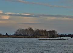 L'isola al crepuscolo