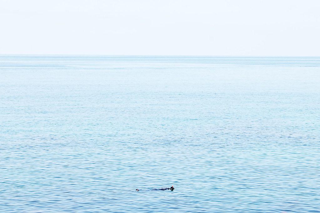 alex snorkeling