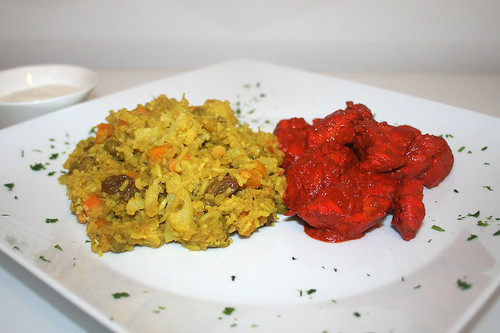 51 - Tandoori Chicken & Biryani - CloseUp