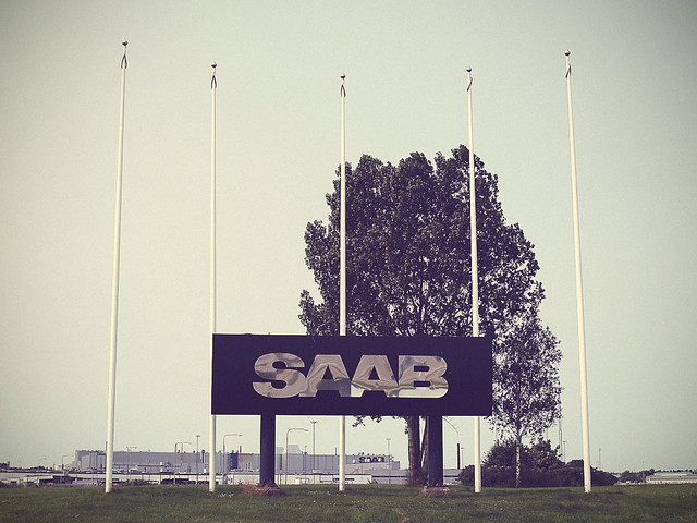 The Saab factory at Trollhättan