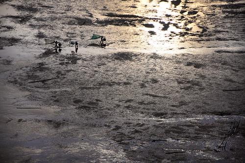 life china light sunset shadow people color reflection art beach water colors rural gold golden boat fisherman sand colorful pattern village folk mel shade melinda fujian folks mudflats paintinglike 褔建 xiapu chanmelmel 霞浦 小皓 灘塗 melindachan