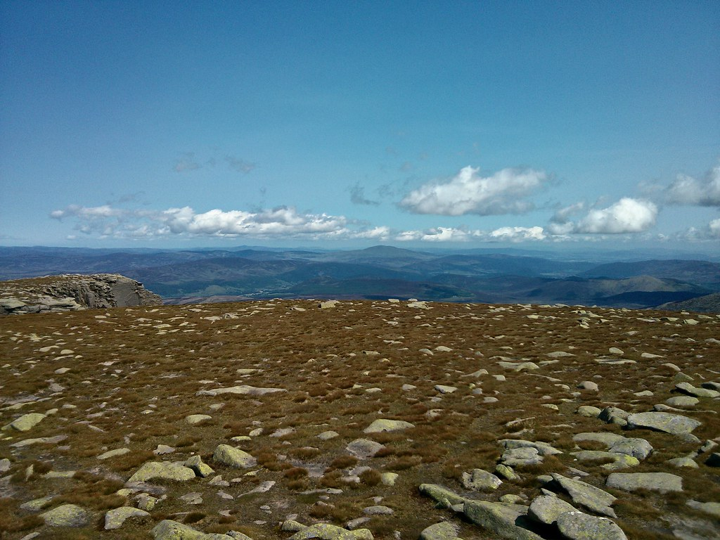 Expansive views from Lochnagar