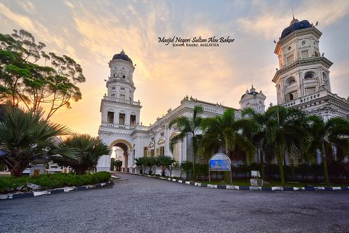 sunrise hdr johorbahru sifoocom masjidnegeri masjidsultanabubakar masjidnegerisultanabubakar