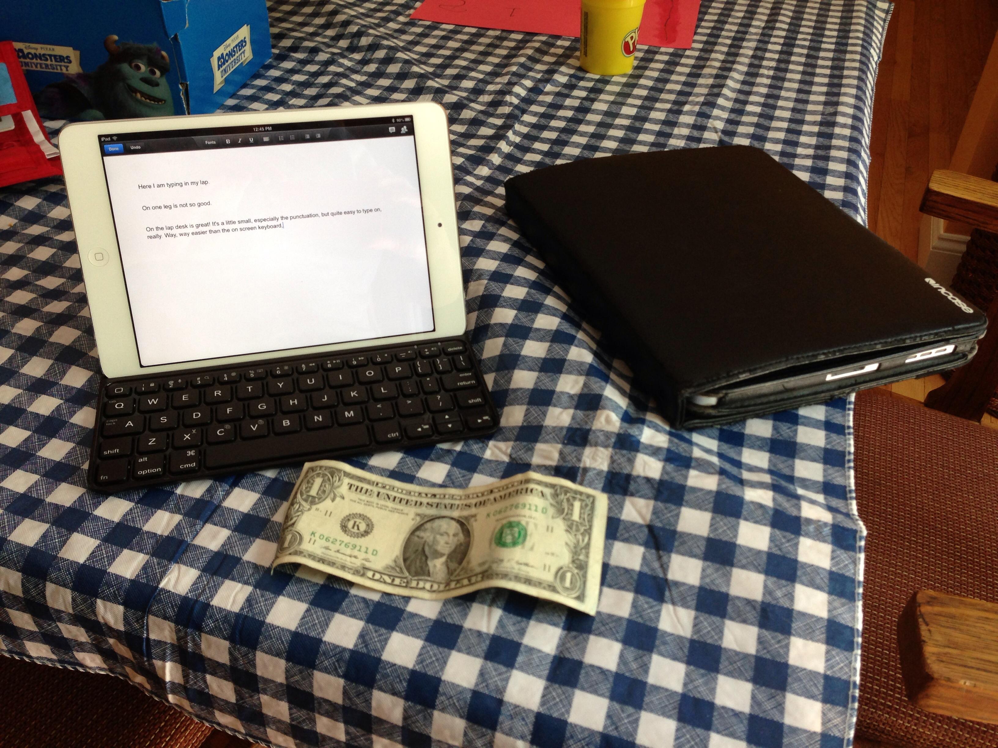 Mini with keyboard