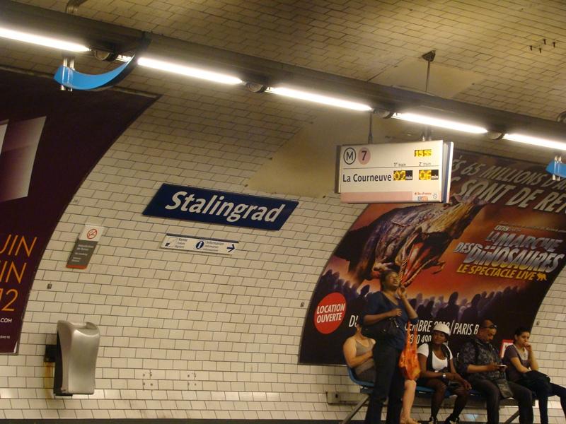 Stalingrad station
