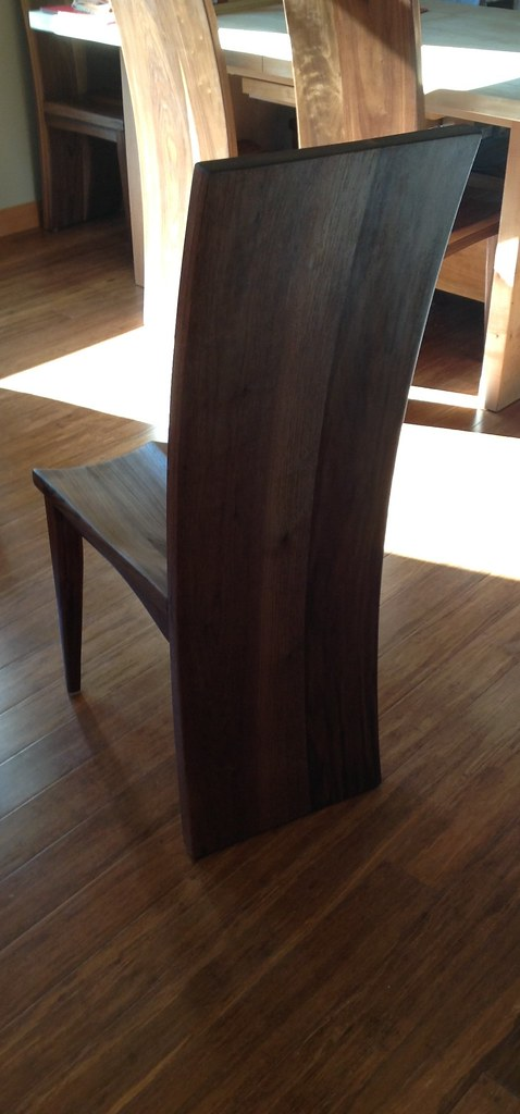 Super Walnut Dining Chair Stuart Brooks Flickr Pabps2019 Chair Design Images Pabps2019Com