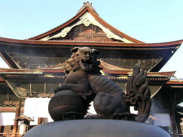 Main Hall of Zenkoji Temple, Nagano