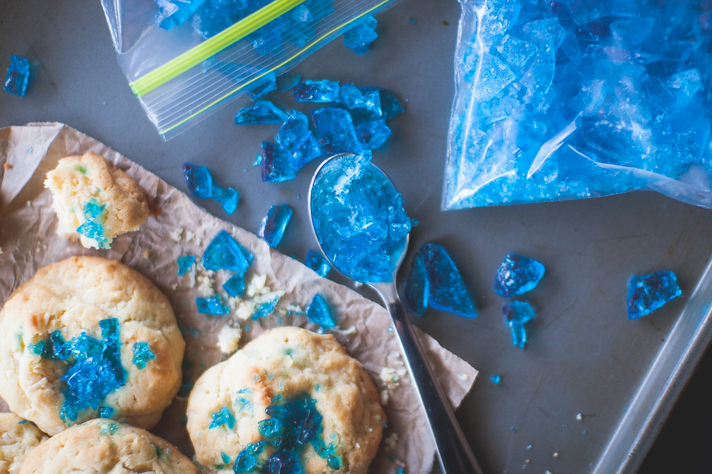 Breaking Bad Blue Ice Cookies