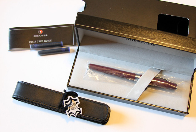 Sheaffer Sagaris Packaging