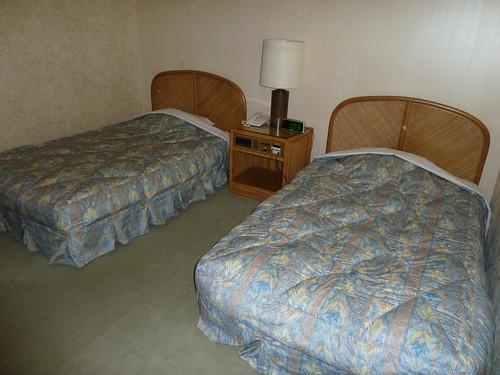 2階にあったベッド