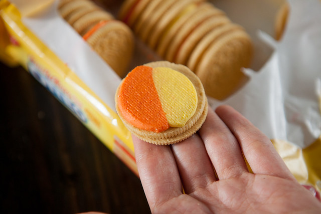 Candy Corn Oreo White Chocolate Chip CookiesIMG_4995