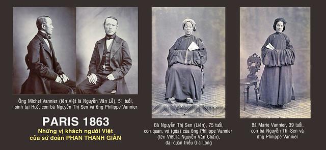 Paris 1863 - Khách của sứ đoàn PHAN THANH GIẢN