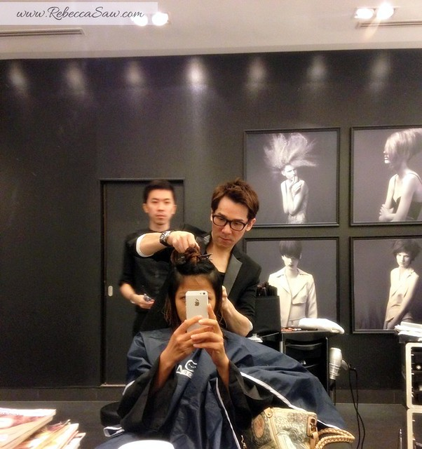 Hair makeover - rebecca saw by Kevin Woo - Centro Hair Salon -002