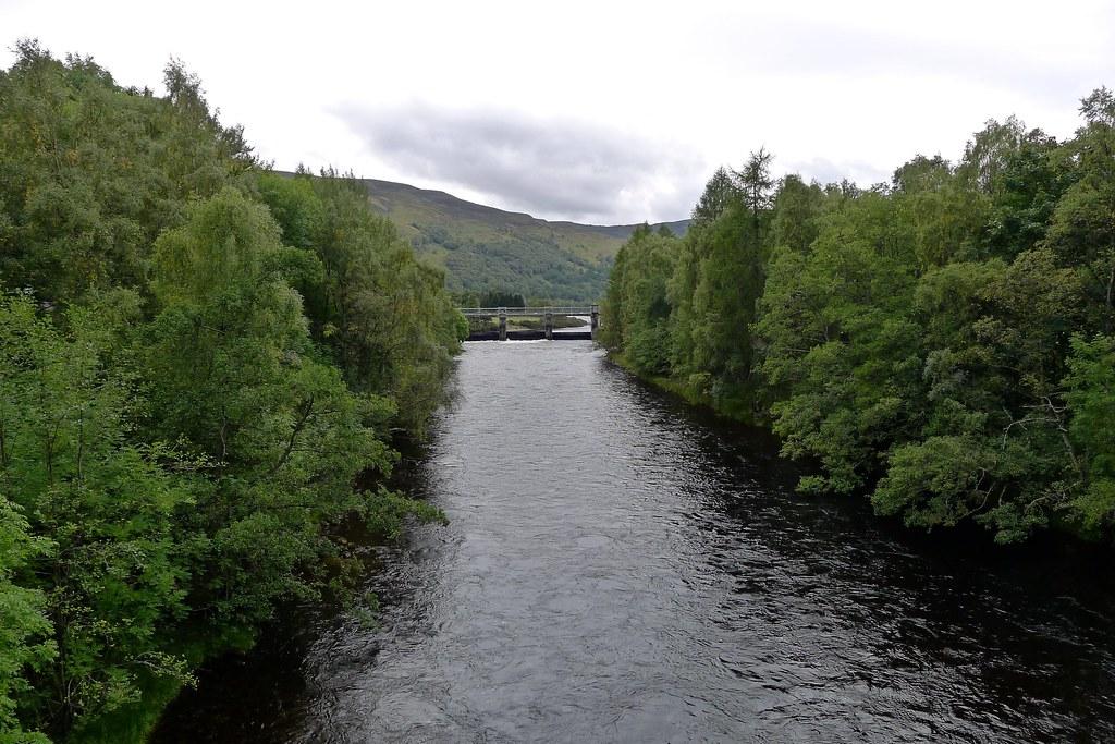 River Tummel at Kinlochrannoch