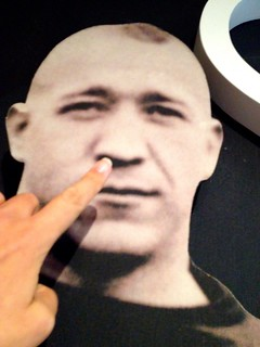 Time to pick Knute Rockne's nose.