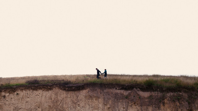 чувства фотосессия пленер любовь  Осенняя фотосессия Оли и Антона. Часть четвертая. После дождя