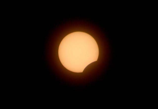 Eclipse parcial 03.11.13 / Solar eclipse.