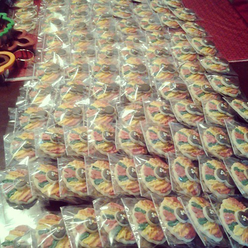 98 turkey cookies