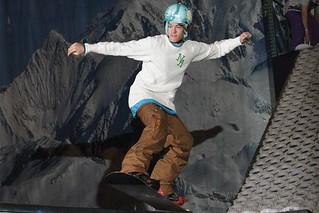 Show entertainment (Portland SkiFever & Snowboard Show)