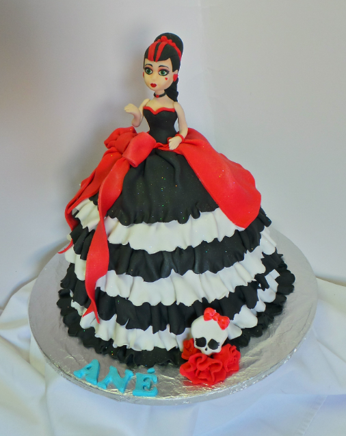 Monster High, Draculaura Doll Cake Flickr - Photo Sharing!