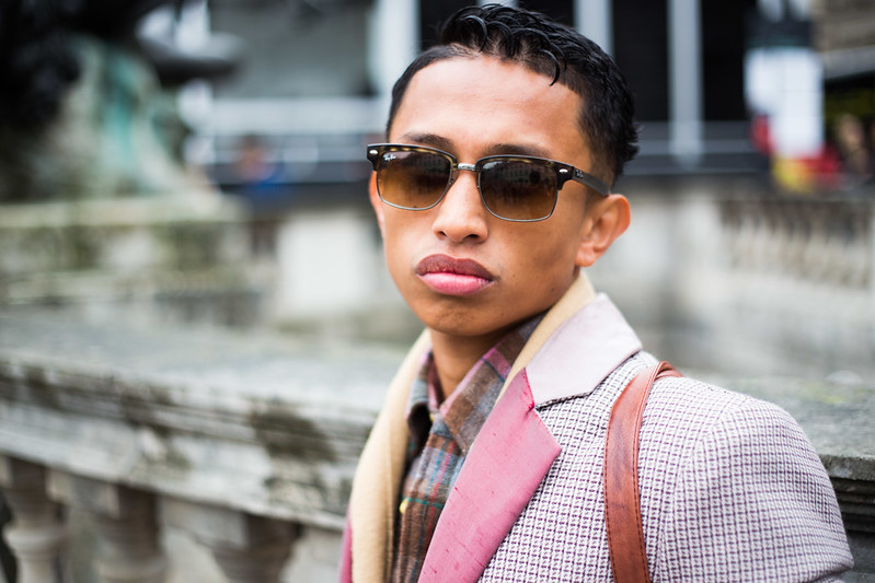 Street Style - Glenn Tojoy, London Fashion Week