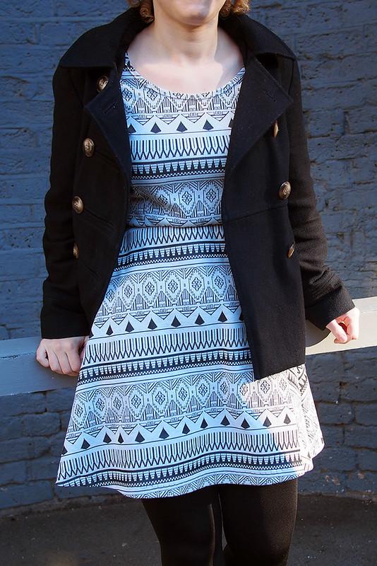 Knit ballet dress