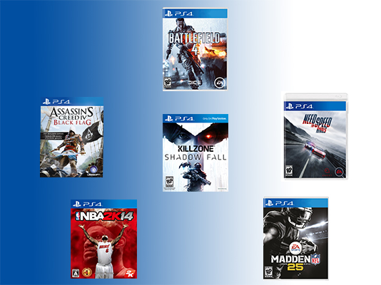 PS4: Six Launch Games Mega Unboxing!