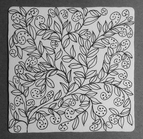 Lines, Vines, and Dots (Pen and Ink Exercise) by randubnick
