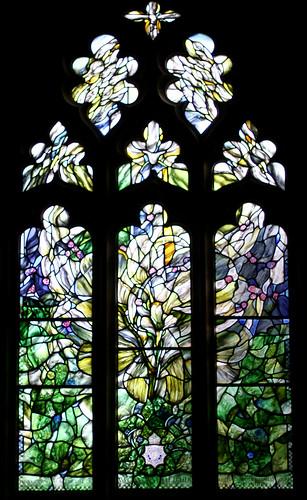 Window in memory of PC Yvonne Fletcher, St Leonard's, Semley, Wiltshire