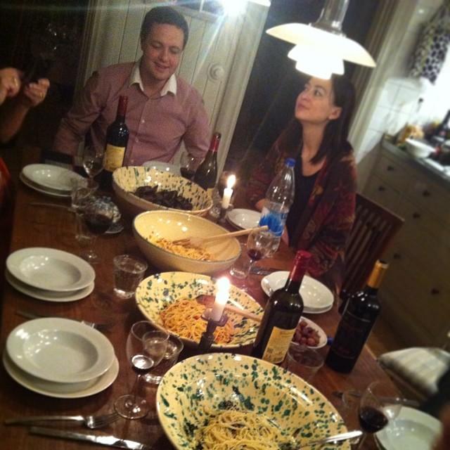 Vi lagade så otroligt mycket god mat i helgen, dom där olika pastarätterna var outstanding! #dinner #onthetable #food #pasta