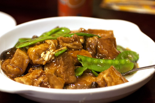 braised tofu @ lucky plaza