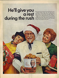 "KENTUCKY FRIED CHICKEN :: ""He'll give you a rest - "" // LARGE v. (( 1968 ))"