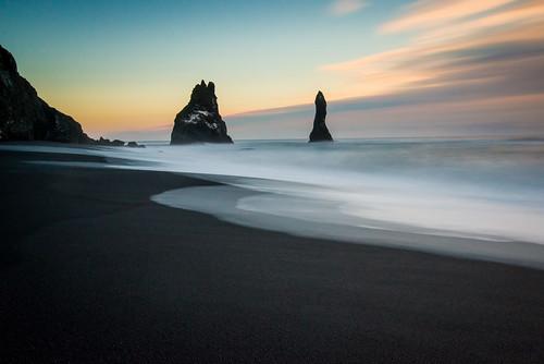 sunset sea seascape black beach coast big sand nikon long exposure lee coastline grad density stopper d800 neutral 10stop