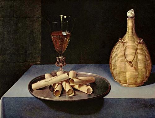 Baugin, le dessert de gaufrettes, XVIe