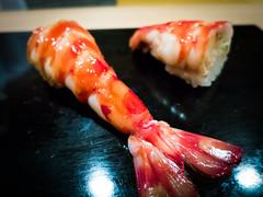 Kurumaebi (Boiled Prawn) @ Sukiyabashi Jiro