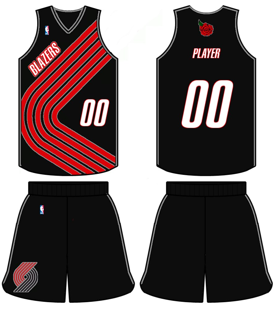Portland Trail Blazers Redesign Ideas