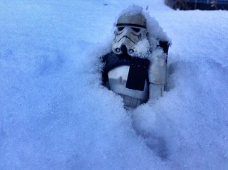 """I'm a Sandtrooper, not a freaking Snowtrooper! Get me out of here!"