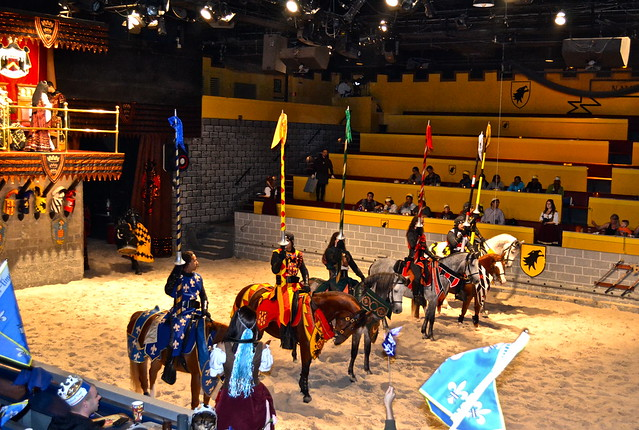 Medieval  Times Orlando Florida- the knights