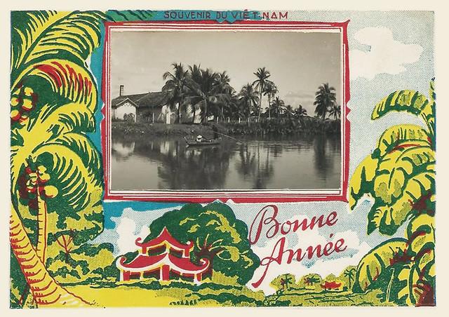 SAIGON - BONNE ANNEE 1953