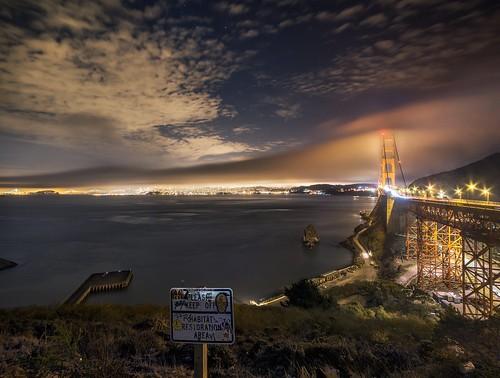 sanfrancisco california ca northerncalifornia night nikon cityscape goldengatebridge bayarea ultrawide d800 14mm samyang kevinmacleod nikond800 samyang14mmf28 d800e nikond800e unrangedcom unranged