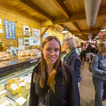 Emily visits the cheese house