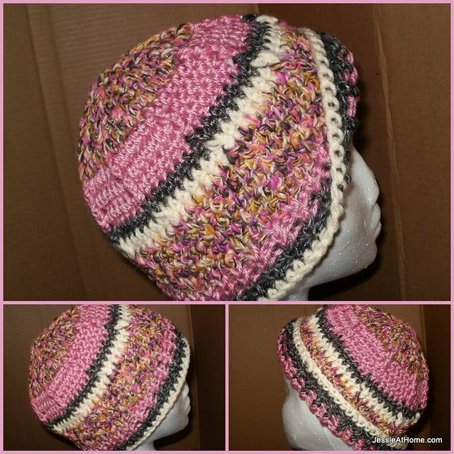 Raised-Stripes-Hat-Woman-Free-Crochet-Pattern