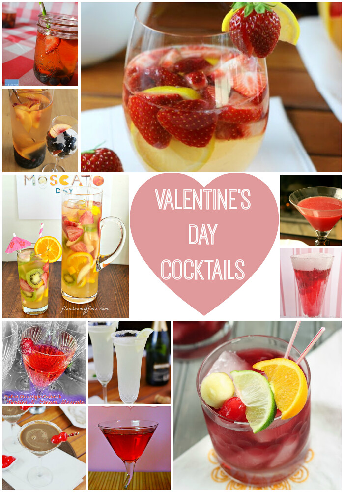 Valentine Cocktail Recipes: Sweet Treats: Valentine's Day Gift Ideas & Cocktail