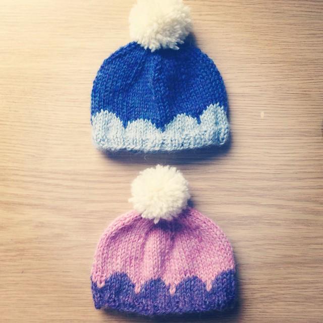 Blythe Knitting Patterns : cuteseum: Blythe scallop hat knitting (+pattern)